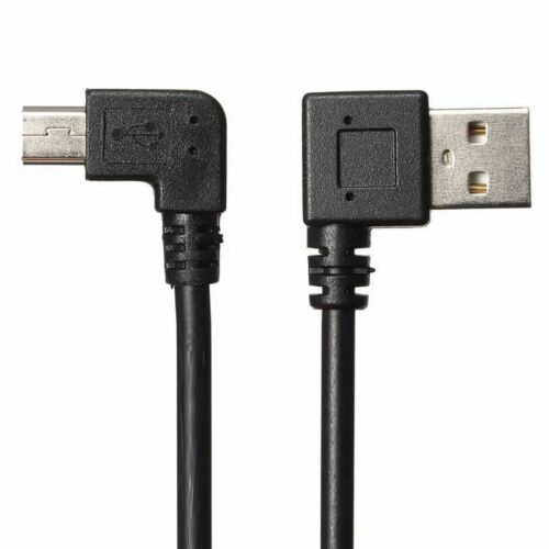 For Canon Powershot S45 USB 90 Degree Angle Charger Power Short Cable Lead