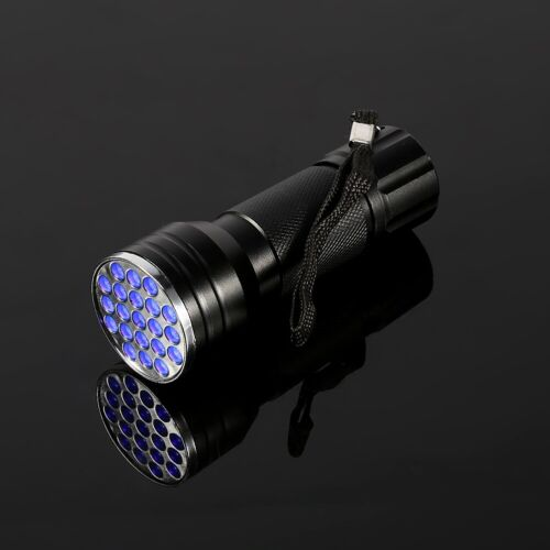 Ultraviolet LED Flashlight High Quality UV 21 LED Flashlight Torch Light