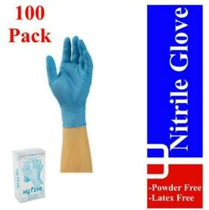 Hy-Five-Nitrile-Gloves-Powder-Free-Latex-Free-4mil-100pk-or-1000-cs-Blue-Black