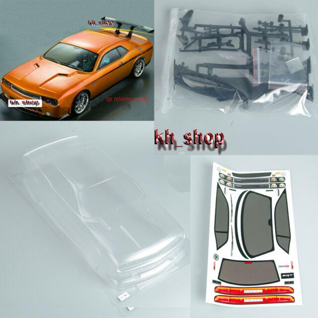 1/10 RC Drift Car PC Clear Body Shell 190mm For Dodge viper SRT8 190mm W/Sticker