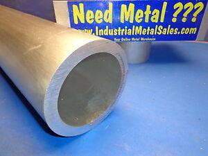 """2/"""" OD x 60/"""" x 1//4/"""" Wall 6061 T6511 Aluminum Round Tube--/>2/"""" OD x .250/"""" Wall 6061"""