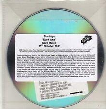 (CH786) Starlings, Dark Arts - 2011 DJ CD