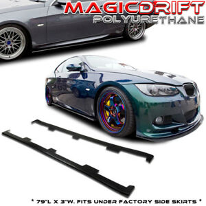 BMW-07-13-3-Series-E90-E92-E93-M3-335i-Lower-Side-Skirt-Rocker-Panel-Extension