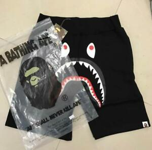 Unisex Shorts Japan Bape Shark Jaw Icon Pattern A bathing ap