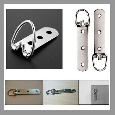 90mm Heavy Duty 3 hole Hook D Ring Hook Strap Picture Frame Photo Hanging Hanger