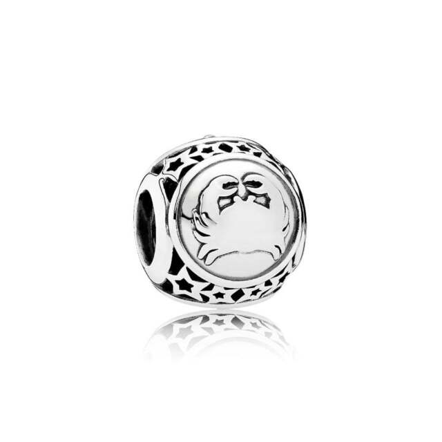 7324d9dfa Authentic Pandora Charm Sterling Silver 791939 Cancer Star Zodiac Sign