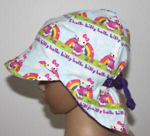 Gr 47-52 Regenbogen Mütze Sommermütze Sommerhut Mädchen Baby Kinder DaWanda