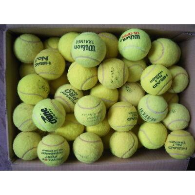 20 gebrauchte Tennisbälle, Hersteller unterschiedlich