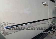 """2007-2009 Chevy Tahoe 4Pc Chrome Body Side Molding Trim Overlay 1"""""""