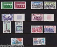 Andorra (French) - Europa - U/M - 1984+1986+1987+1988+1990 & 1992 'Bundle'