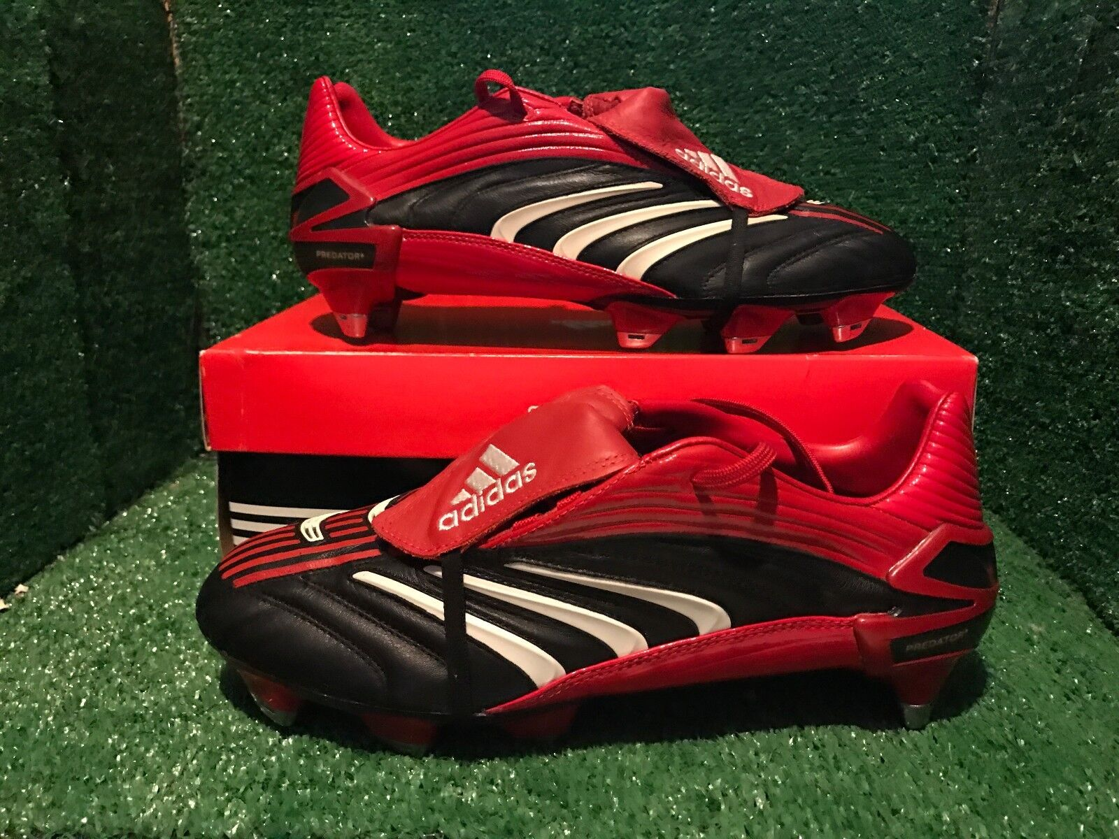 BNIB Adidas Predator Powerswerve pulse Soccer shoes F50 spider Size 8 8,5 42