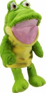 PUPPET-Plush-Large-Hand-Puppet-10-034-Frog-with-sound