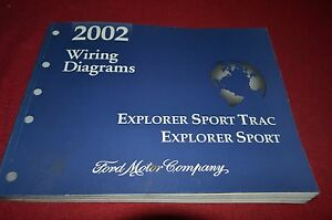 Ford Explorer Sport Trac Explorer Sport 2002 Dealer Wiring ...