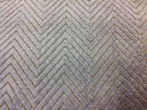 Image Is Loading Baker Lee Jofa Cut Velvet Chevron Upholstery Fabric