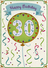 Red Balloon Gifts and Streamers Designer Greetings Age 60 60th Birthday Card
