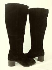 1c28e64532c item 4 Steve Madden Womens Boots Tall LASSO US 8 M Black Suede Zip Heels  6069 -Steve Madden Womens Boots Tall LASSO US 8 M Black Suede Zip Heels 6069