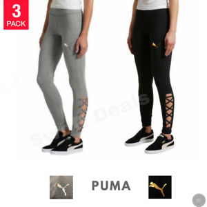 68336ed6aa3879 Image is loading Puma-Ladies-039-Lace-Up-Legging-Women-039-