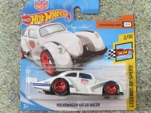 42a957986e1465 Hot Wheels 2018  147 365 VW VOLKSWAGEN KAFER RACER white HW Legends ...