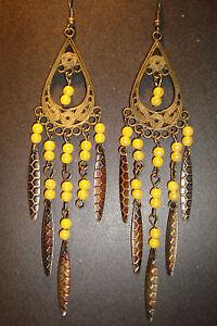 Large Long Indian~Asian Ethnic Boho Chandelier Earrings~ER161~uk ...