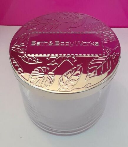 Great for Marie Kondo projects Bath and Body Works Empty 3 Wick Candle Jar