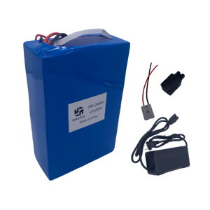 Electric-Lithium-LiFePO4-24V-24AH-Battery-Charger-Wheelchairs-Rechargeable-Motor