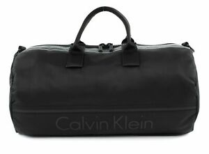 Calvin-Klein-Matthew-2-0-Cylinder-Sac-De-Sport-Sac-Black-Noir-Neuf