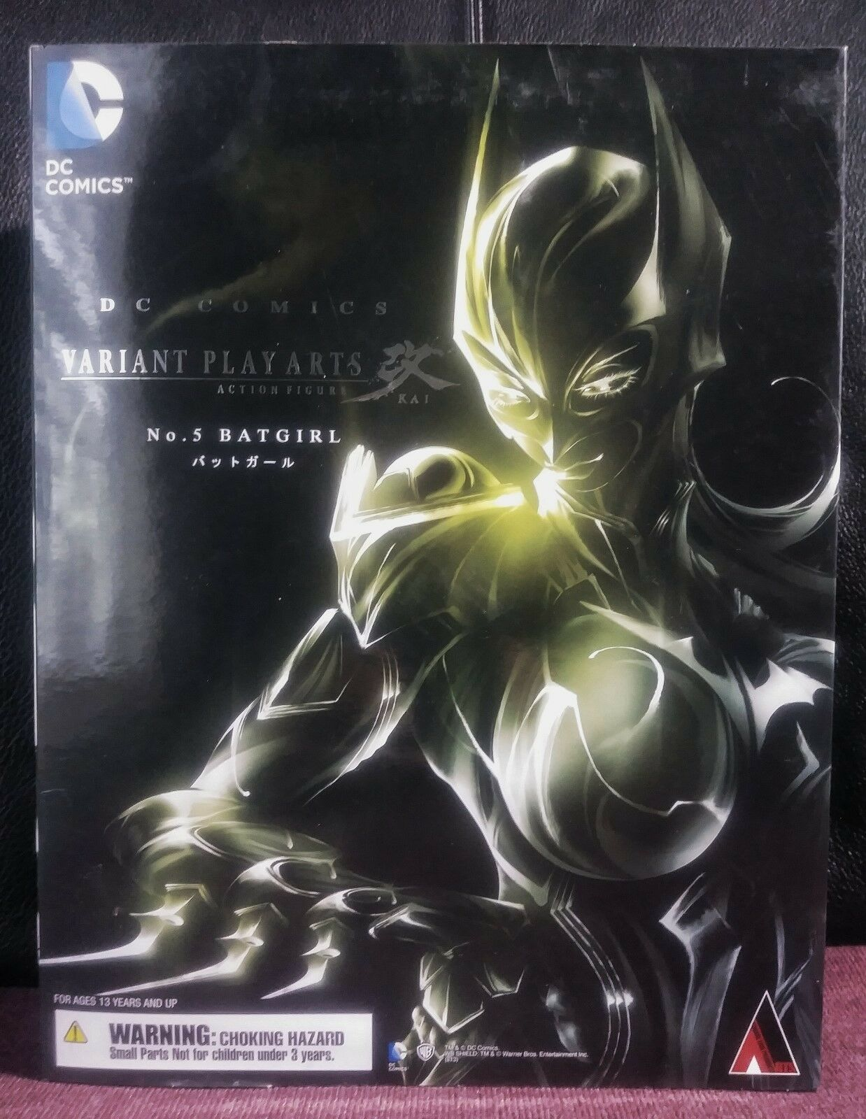 (Authentic) Play Arts Kai DC Comics Variant No. 5  Batgirl