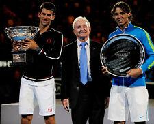 Novak Djokovic, Rod porfira e Rafael Nadal non firmate foto-e134