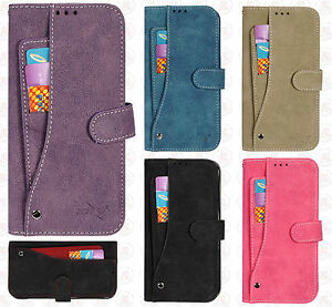 buy online be45e 55c76 Details about For Samsung Galaxy S7 EDGE Premium Slide Out Pocket Wallet  Case Pouch Cover