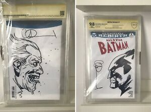 All-Star-Batman-Charlie-Adlard-Sketch-Dceased-CGC-9-8-CBCS-Joker