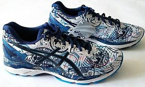 d849e2d38676 Asics Men s Gel Kayano 23 NYC Twenty Six Two Running Shoes Size 9