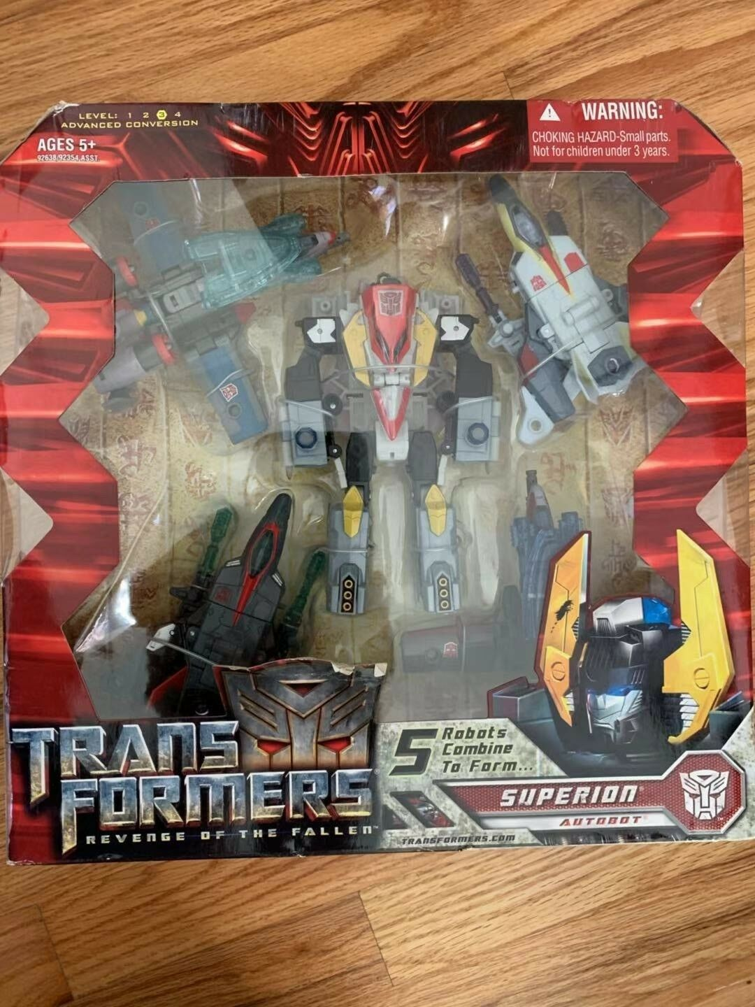 NEW Transformers redF SUPERION Combiner Gift Set MISB Target Exclusive HASBRO