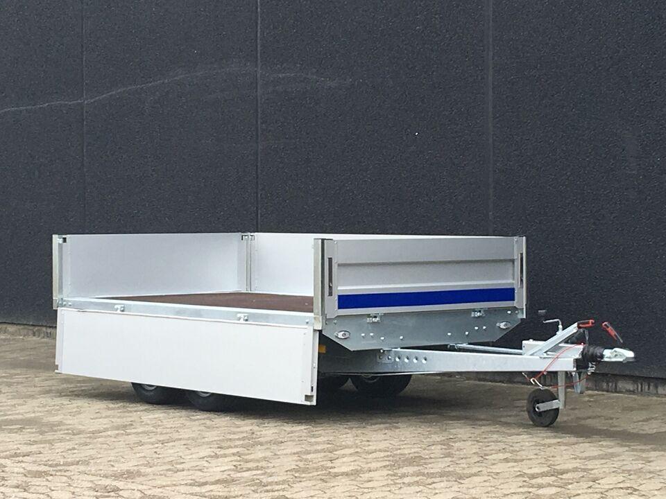Billig boogietrailer - 260 x 150 x 40 cm. 2700KG
