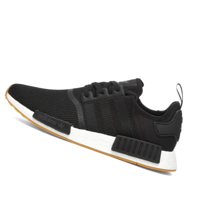 Adidas Mens Shoes Nmd R1 Core Black Gum B42200 For Sale Online
