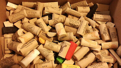 No Synthetic No Champagne Wine Corks 100pc Used Natural Cork