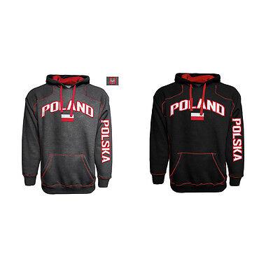 """Adult Polska """"Poland"""" Embroidered Eagle Crest Contrast"""
