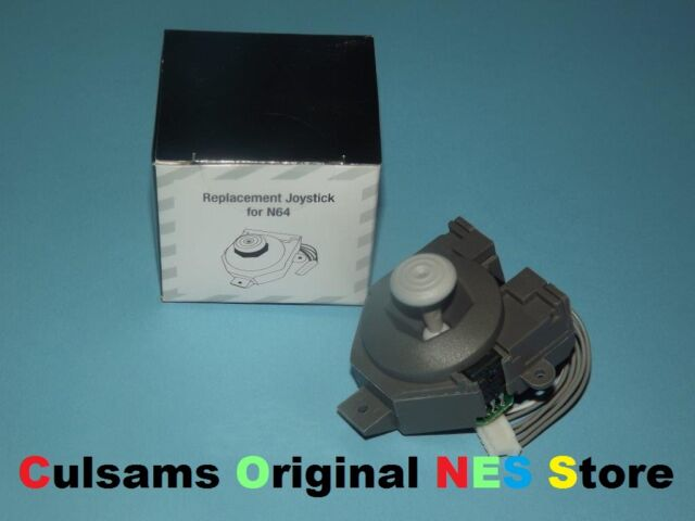 Nintendo 64 N64 Joystick Thumbstick Controller Repair Part & Instructions