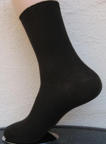 4 paires de chaussettes sans caoutchouc 1//1 nervure 100/% coton 4 couleurs 39 à 46 Cocain