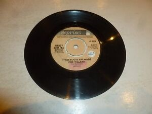 NANCY-SINATRA-These-Boots-Are-Made-For-Walkin-039-1965-UK-7-034-Vinyl-Single