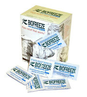 Biofreeze Travel 5gx100 Packs Pain Relief Gel Arthritis Cold Therapy Sore Muscle