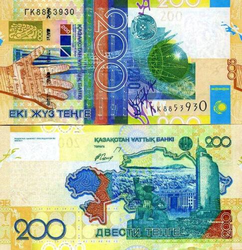 Banknote UNC 200 Tenge Kazakhstan 2006