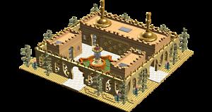 Lego Custom Instruction Golden Grand Palace instruction only