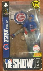 "MLB The Show 19 7/"" Figure Chicago Cubs Javier Baez"
