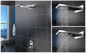 regenbrause schwallbrause wasserfall duschkopf regendusche edelstahl nac 092k ebay. Black Bedroom Furniture Sets. Home Design Ideas