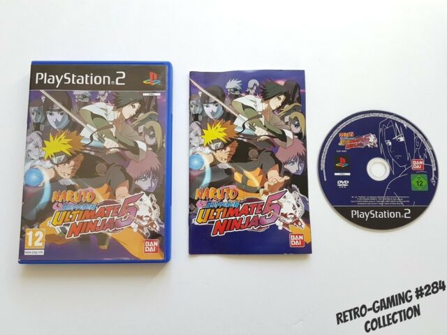 NARUTO SHIPPUDEN ULTIMATE NINJA 5 sur Playstation 2 VF Complet #RETROGAMING #284