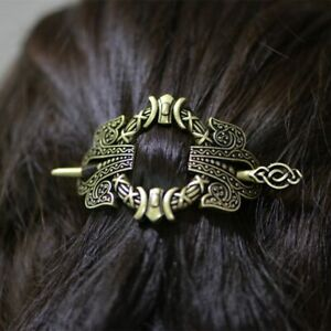Viking-Hairpin-Hair-Vintage-Hairpin-Barrette-Stick-Knotwork-Fast-Shipping