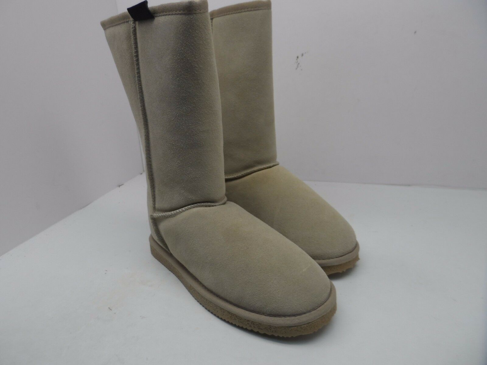 "Climate X Women's 10"" Faux Fur Lined Boots Sands Size 7M"