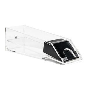 Casino Blackjack Dealer Shoe - 8 Deck Clear