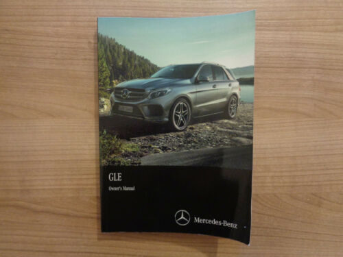 Mercedes GLE Owners Handbook//Manual 15-18