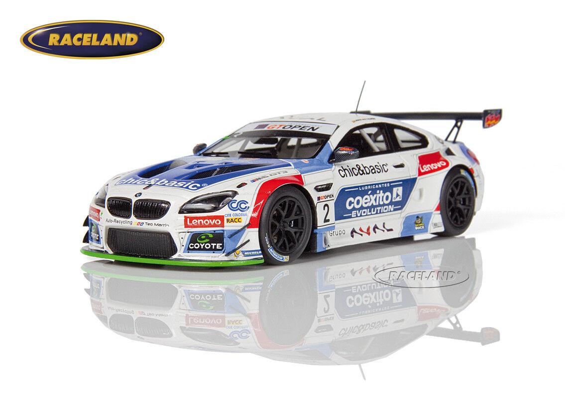 BMW m6 gt3 Teo Martin GT Open Red Bull Ring 2016 MONJE/YACAMAN, MINICHAMPS 1:43 | Pour Votre Sélection